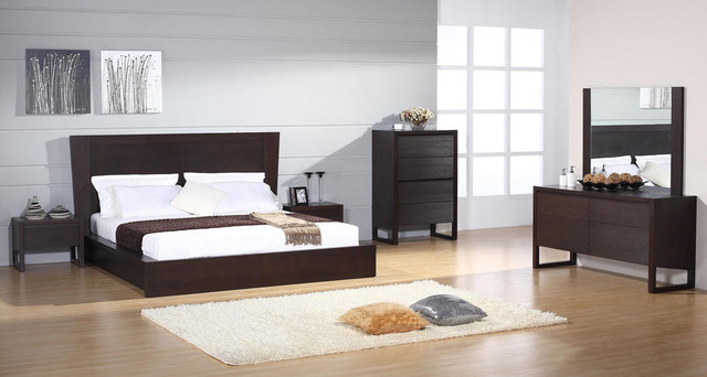 wooden bed set designs