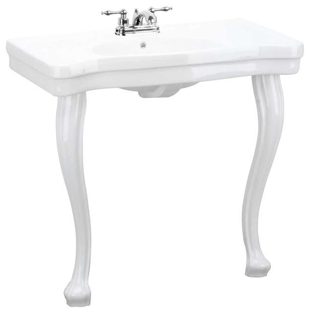 Bathroom Sink With Legs : ... Sink 2 Provincial Legs 4