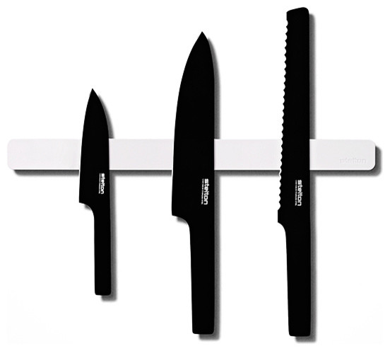 Stelton - Pure Black Knives modern knives and chopping boards