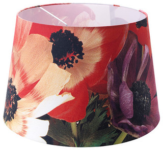h rja shade flowers red modern lamp shades by ikea