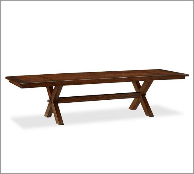 Rectangle Dining Table : Toscana Extending Rectangular Dining Table - Modern - Dining Tables ...