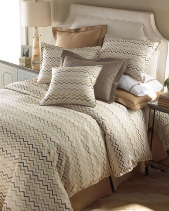 LEGACY Zigzag Bed Linens King Zigzag Sham traditional-sheets