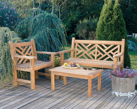 Kingsley Bate Chippendale Benches -