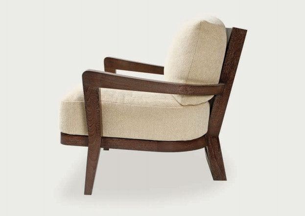Hourglass Lounge Chair and Ottoman Contemporary Armchairs And Accent Chai