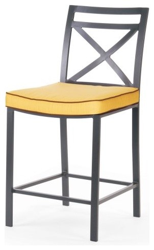 Caluco San Michele Counter Height Chair traditional-outdoor-chairs