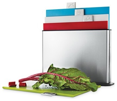 Joseph Joseph Index Stainless Steel Chopping Board Set modern-cutting-boards