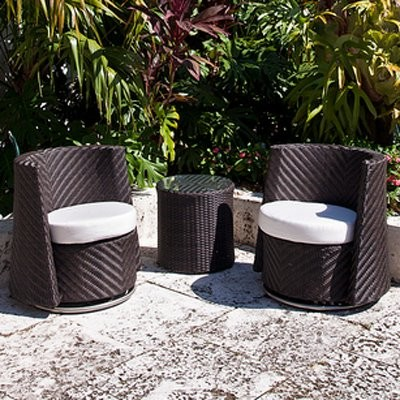 Source Outdoor Triumph All Weather Wicker Barrel Chair modern-patio-furniture-and-outdoor-furniture