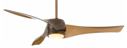 Mink Aire Artemis Ceiling Fan in Copper Bronze contemporary-ceiling-fans
