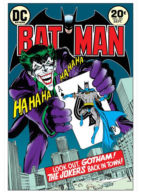 Batman and The Joker Comic Book Wall Art - Modern - Artwork - by Oriental Furniture