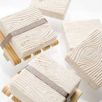 Faux Bois/Wood Soap Collection contemporary bath and spa accessories