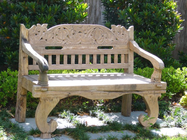 Texas Tuscan Furniture Designs eclectic outdoor stools and benches