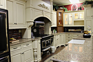 White maple amish kitchen cabinets farmhouse kitchen ottawa by amish kitchen cabinets - Amish built kitchen cabinets ...