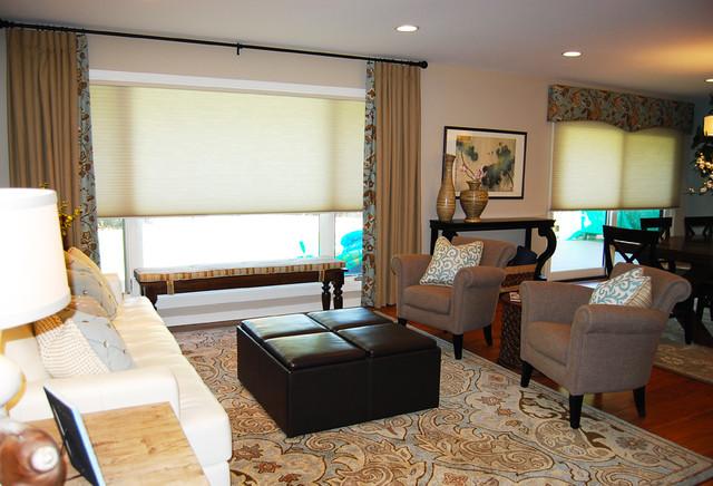 Viola Interior Design Portfolio contemporary-living-room