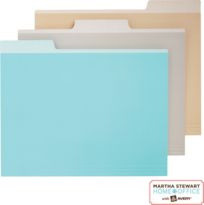 Martha Stewart Home Office™ with Avery™ File Folders - Traditional - Desk Accessories - by Staples