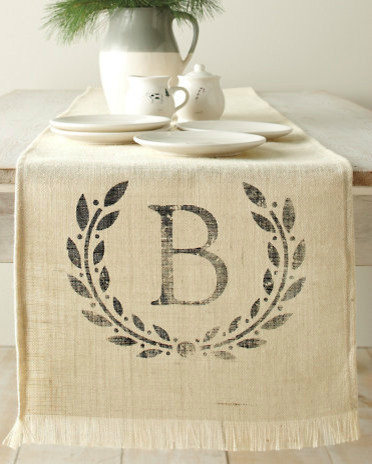 Personalized Table Runner traditional-table-runners