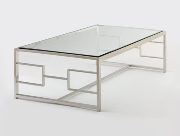 HOLLY HUNT H Cocktail Table Contemporary Coffee Tables