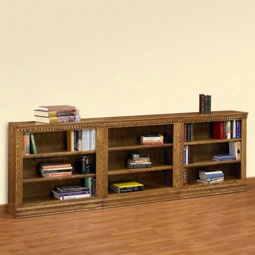 A & E Britannia 36 Inch Short Bookcase Wall - Traditional ...