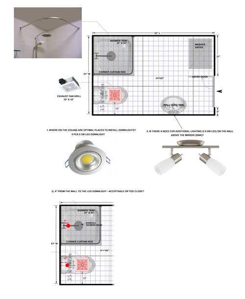 Lighting In Small Bathroom Advice