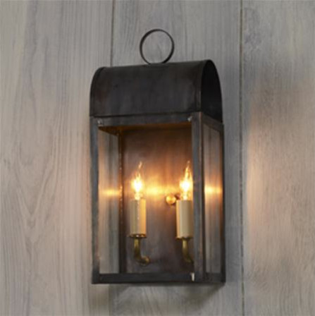 Arched Outdoor Light traditional-outdoor-lighting