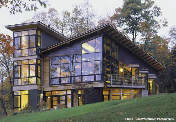 Glass & Steel contemporary-exterior