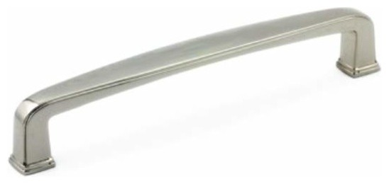 Richelieu Traditional Metal Bar Pull 128mm Polished Nickel - Contemporary - Cabinet And Drawer ...