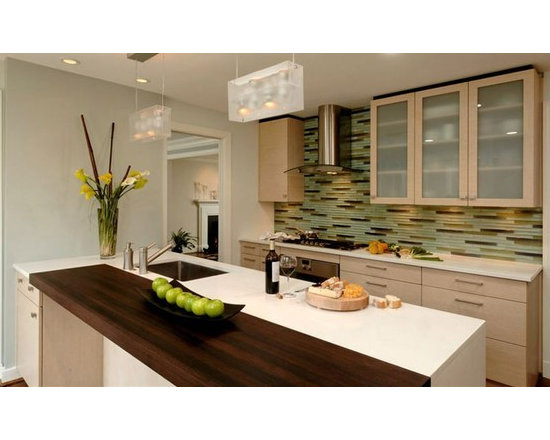 Wenge Kitchen Countertop. Designed by Jennifer Gilmer Kitchen & Bath Ltd..jpg -