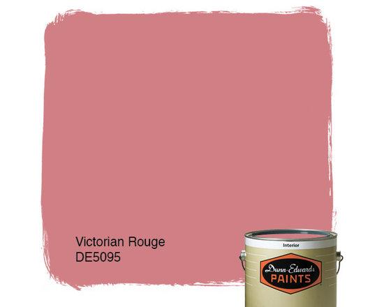 Dunn-Edwards Paints Victorian Rouge DE5095 -