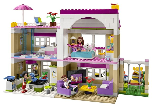 Lego Friends Olivia's House 3315 - Contemporary - Kids Toys And Games - by Amazon