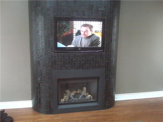 fireplace installs traditional