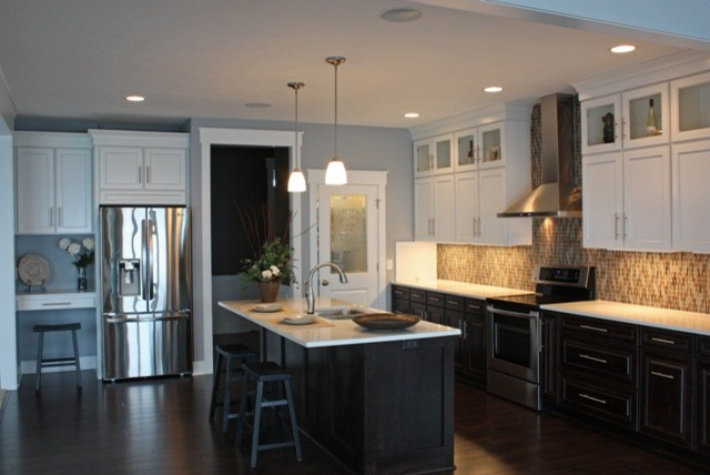 Contemporary  Kitchen  grand rapids  by Starlite Kitchens and Baths