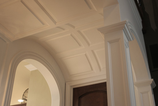 Raised Panel Wainscoting On Ceiling - Traditional - Molding And Trim ...