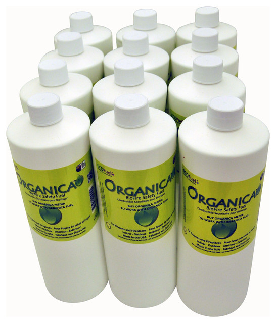 Organica BioFire Safety Fuel (Case of 12 Refills) traditional-fireplace-accessories