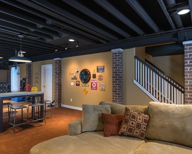 Help: Seeking feedback on painting open basement ceiling ...