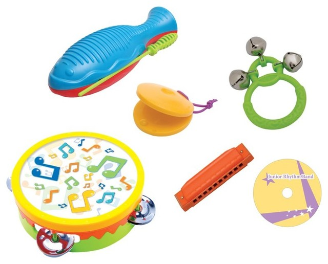 Edushape Junior Rhythm Band Multicolor - HL9012 contemporary-baby-and-toddler-toys