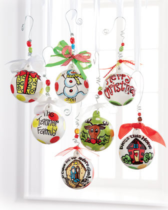 Glory Haus Personalized Ornaments traditional-holiday-decorations