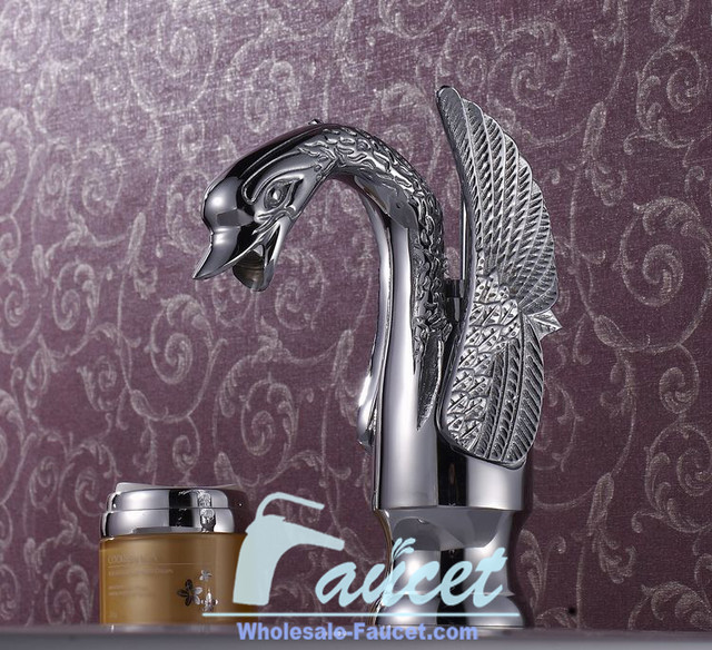 Elegant Single Handle Waterfall Sink Faucets UltraLuxury Bathroom Polishing