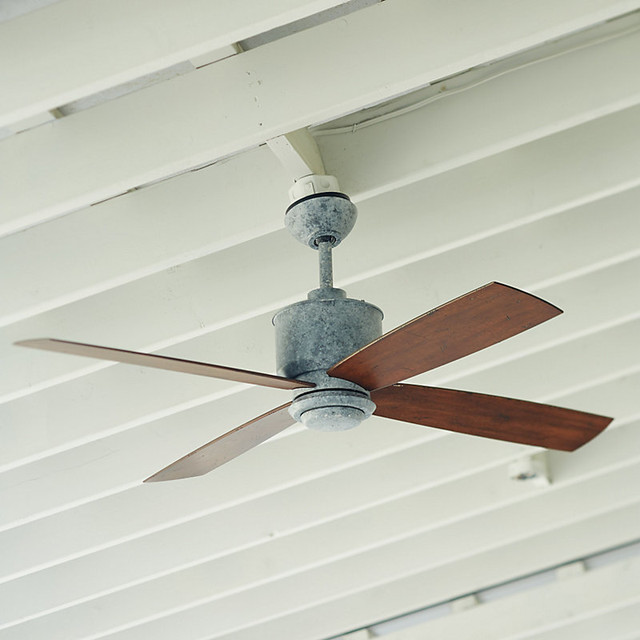 Carter Indoor Outdoor Ceiling Fan Traditional Ceiling Fans By Ballard D