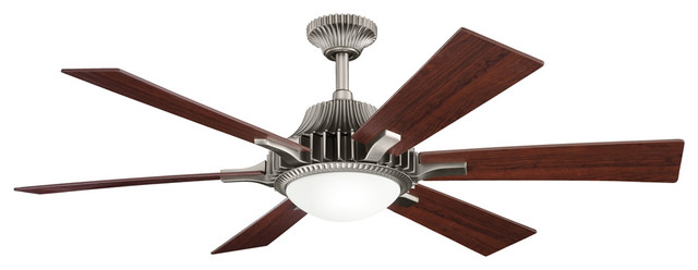 Kichler 300136AP 52 Inch Valkyrie Fan transitional-ceiling-fans