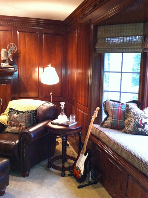 Ingrid Porter Interiors traditional-home-office