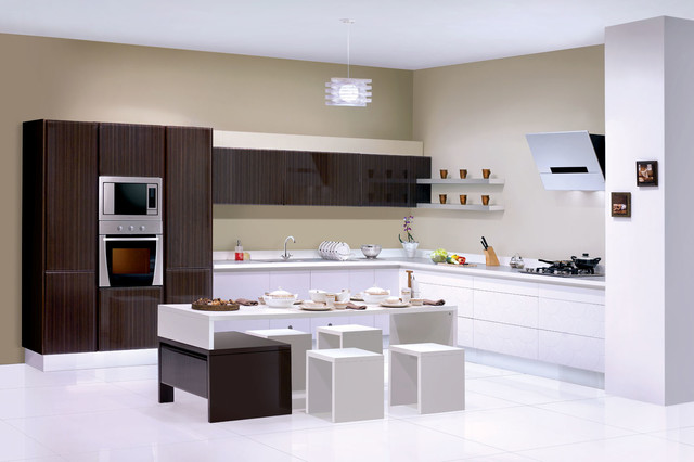 Modular kitchen designs modern other metro by for Sleek modern kitchen ideas
