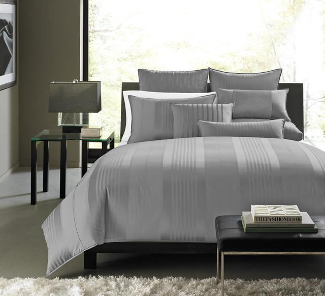 Hotel Collection Bedding Classic Stripe Contemporary