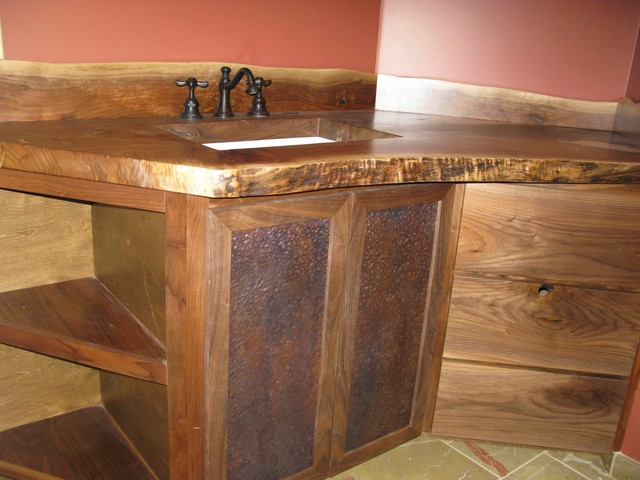 Local home eclectic bathroom vanities and sink for Local bathroom vanities