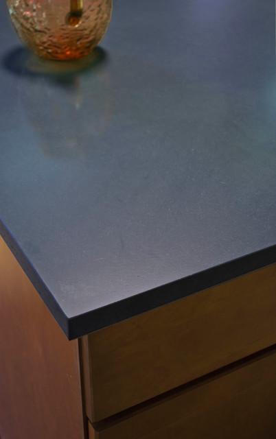Basalt Stones For Countertop : Basalt black kitchen countertops austin by latera