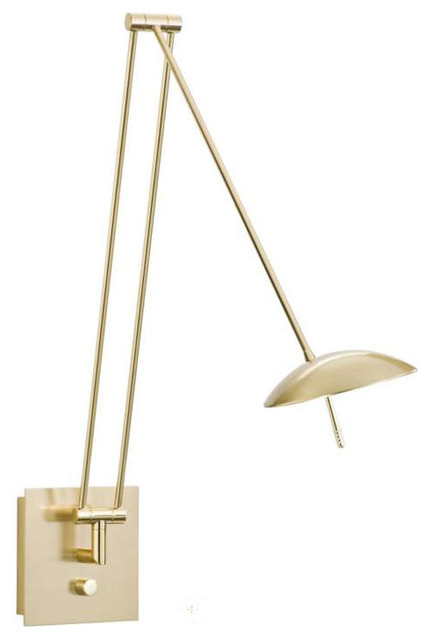 Bernie Reading Swing Arm Wall Lamp - Modern - Swing Arm Wall Lamps - by Lightology