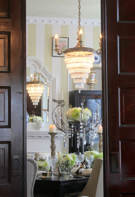 Pocket Doors traditional-dining-room