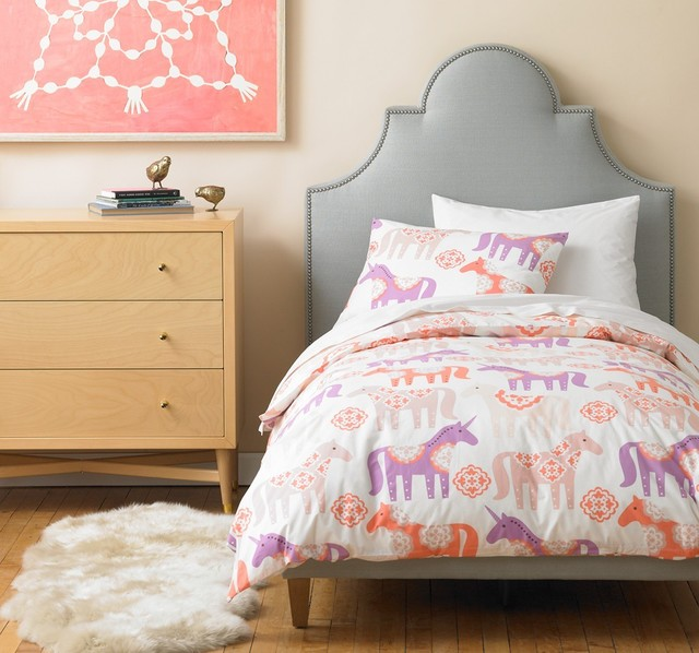 Dwellstudio Unicorn Duvet set - Modern - Kids Bedding - portland - by fawn&forest