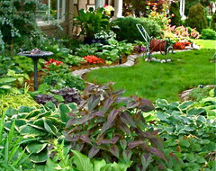 Shade Garden Ideas Zone 7 garden designs zone 7. design plan solution drivewayhow to