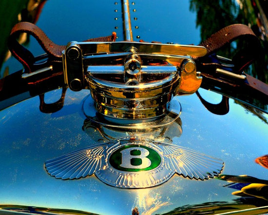 """www.WilliamBrionart.com photo gallery - Photograph by William Brion, """" Rad Radiator Cap"""", the radiator cap element on a Bentley classic automobile. The amazing attention to detail on this cap was restored to its original beauty by this owner. (Gallery 3 )"""