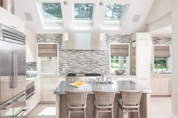 Osterville Home transitional-kitchen