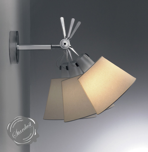 bedroom reading wall lights artemide tolomeo wall laps modern san